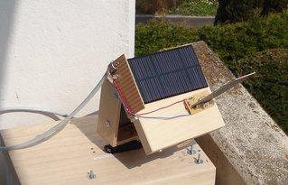 Solarnachführung mechanik